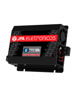Fonte Automotiva Digital e Carregador 10 AMP sem Display JFA