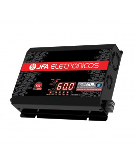 Fonte Automotiva Digital e Carregador 60 AMP JFA